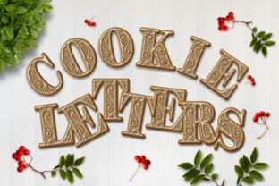 Download Free Cookie Alphabet Clipart Set Graphic By Eva Barabasne Olasz for Cricut Explore, Silhouette and other cutting machines.