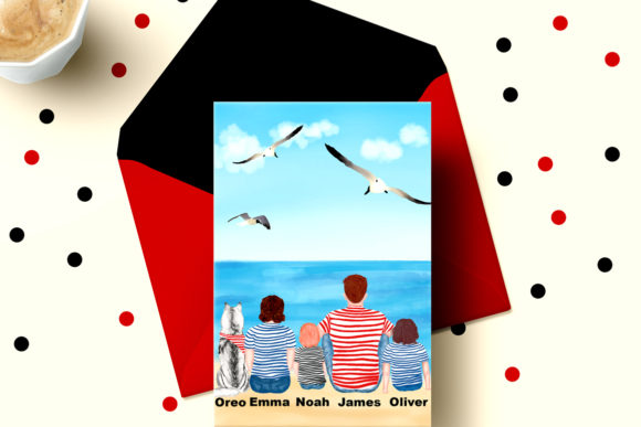 Family Cliart,People Clipart Graphic Illustrations By LeCoqDesign - Image 5