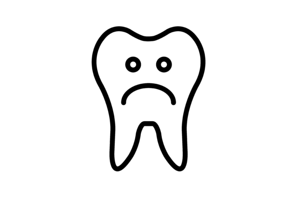 Tooth Ache Icon Graphic Icons By verry studio