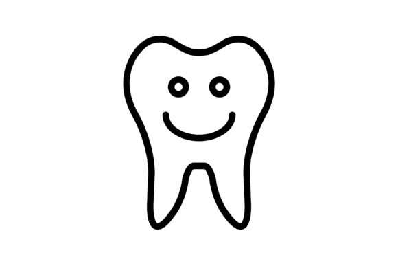 Tooth Icon Vector Graphic Icons By verry studio