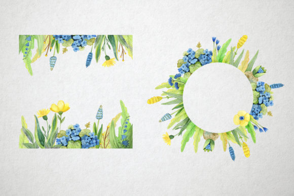 Print on Demand: Watercolor Spring Set Graphic Illustrations By By Anna Sokol - Image 3