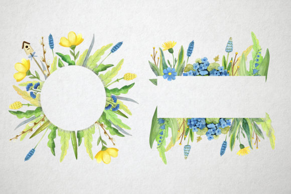 Print on Demand: Watercolor Spring Set Graphic Illustrations By By Anna Sokol - Image 4