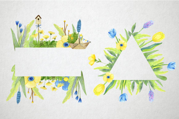 Print on Demand: Watercolor Spring Set Graphic Illustrations By By Anna Sokol - Image 5
