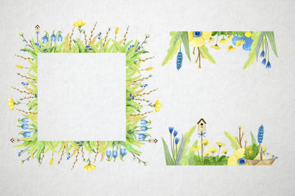 Print on Demand: Watercolor Spring Set Graphic Illustrations By By Anna Sokol - Image 6