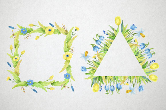 Print on Demand: Watercolor Spring Set Graphic Illustrations By By Anna Sokol - Image 7