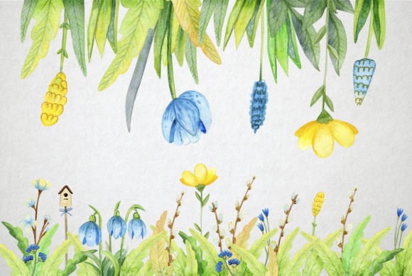 Print on Demand: Watercolor Spring Set Graphic Illustrations By By Anna Sokol - Image 8