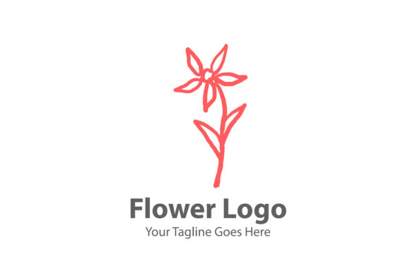 Flower Logo Graphic Logos By Thingraphic
