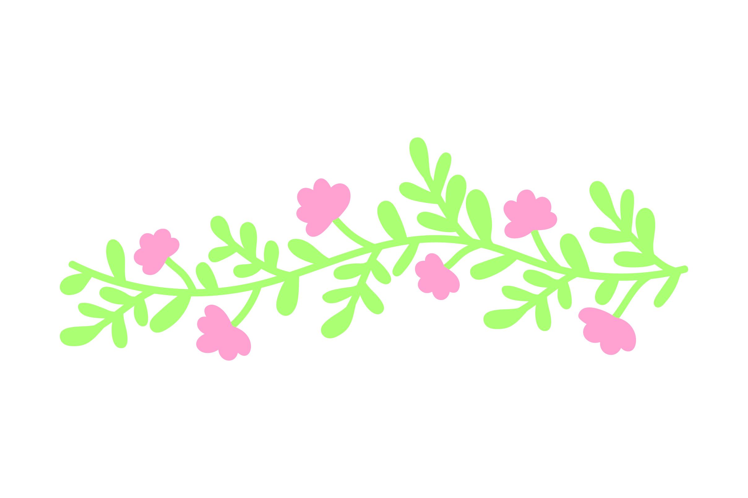 Download Free Pink Flower Wreath Svg Cut File By Creative Fabrica Crafts for Cricut Explore, Silhouette and other cutting machines.