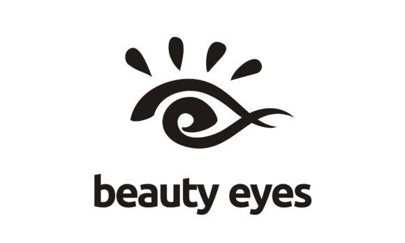 Download Free Abstract Artistic Beauty Woman Eye Logo Graphic By Enola99d for Cricut Explore, Silhouette and other cutting machines.