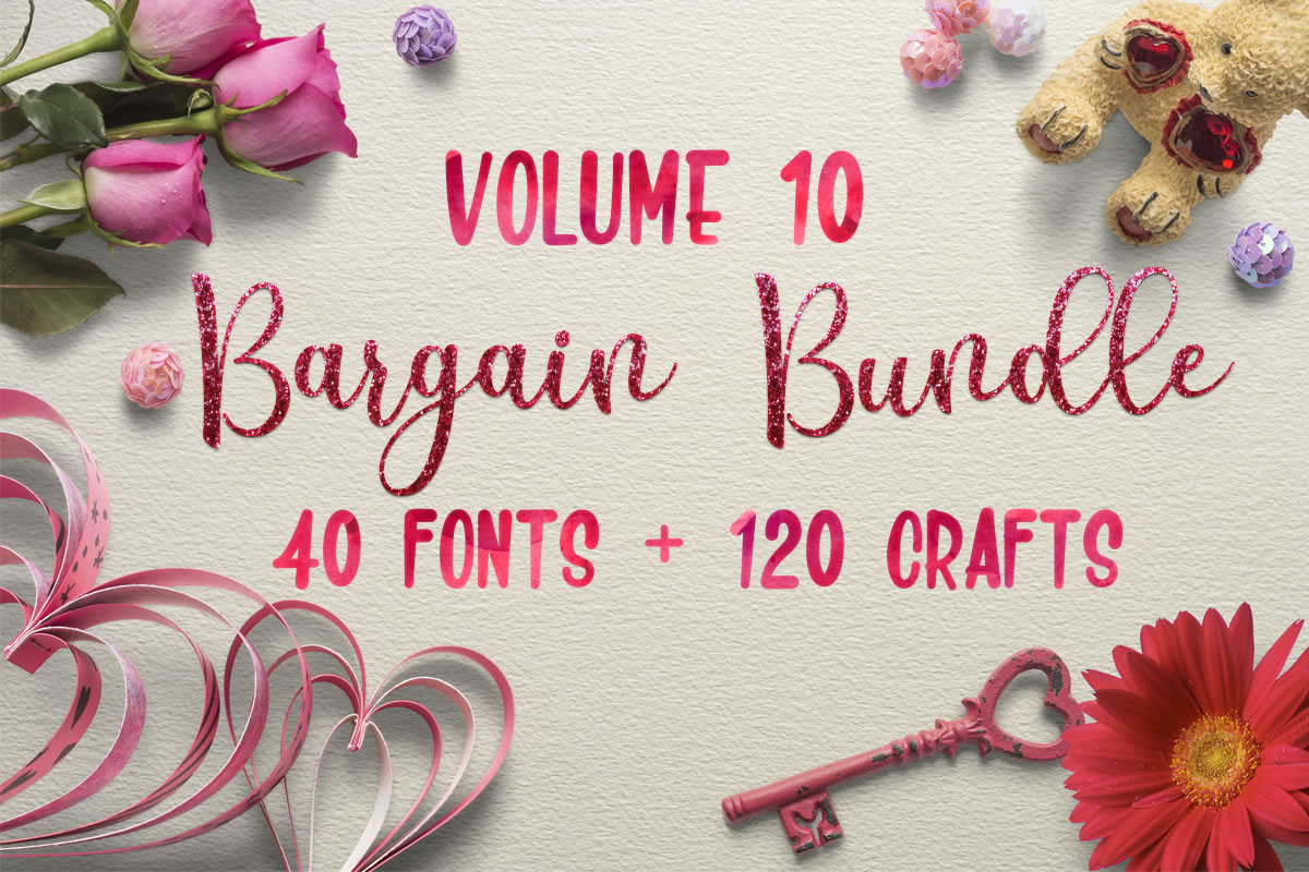 Download Free Bargain Bundle Vol 10 Bundle Creative Fabrica for Cricut Explore, Silhouette and other cutting machines.