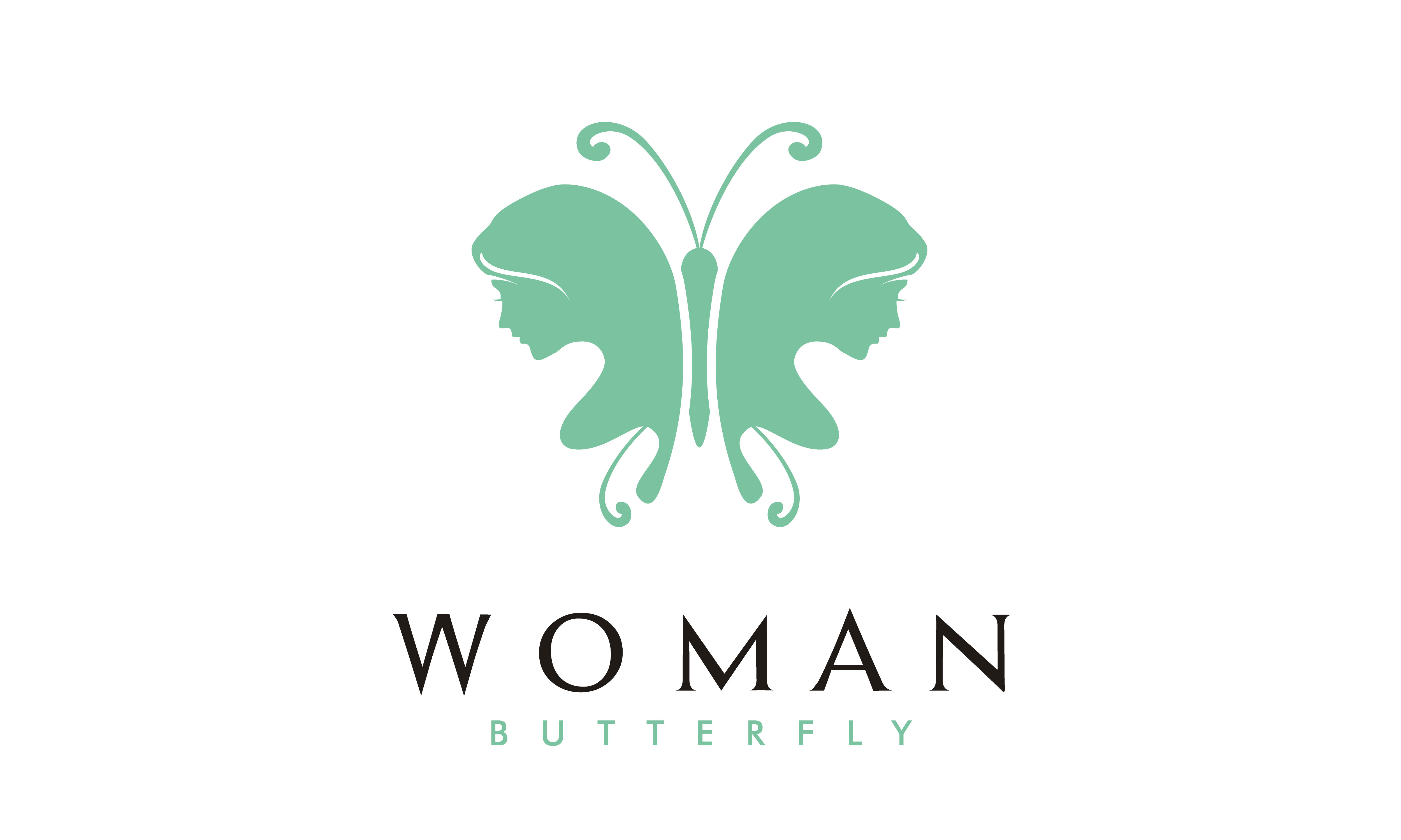 Download Free Butterfly Woman Face Silhouette Logo Graphic By Enola99d SVG Cut Files
