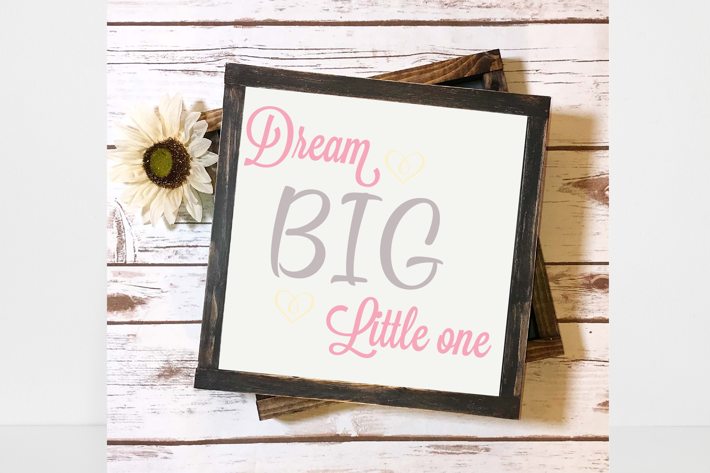 Download Free Dream Big Little One Svg Graphics Graphic By Angela Wheeland for Cricut Explore, Silhouette and other cutting machines.