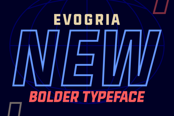 Print on Demand: Evogria New Sans Serif Font By Situjuh