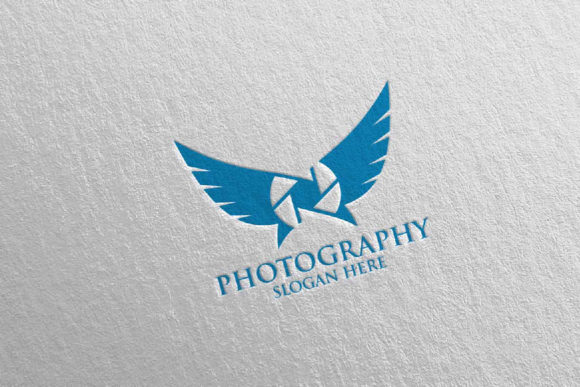 Download Free Fly Wing Camera Photography Logo 93 Graphic By Denayunecf for Cricut Explore, Silhouette and other cutting machines.