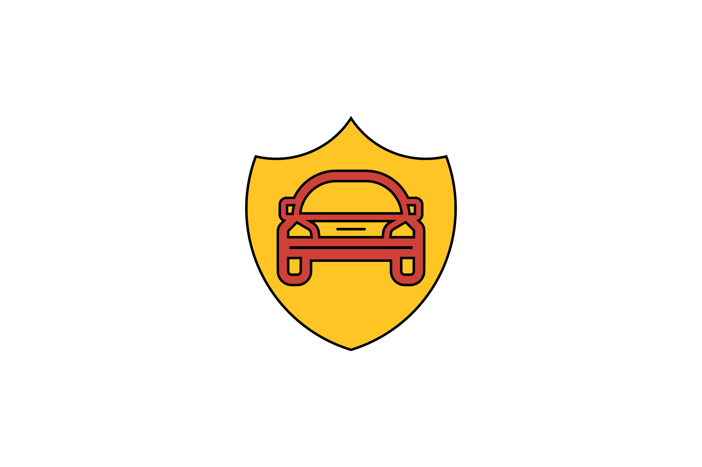 Download Free Car Shield Liner Fill Icon Vector Graphic By Riduwan Molla for Cricut Explore, Silhouette and other cutting machines.