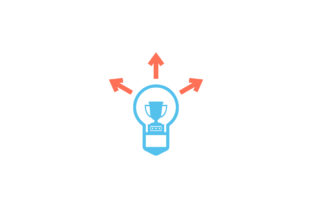 Download Free Idea With Trophy Flat Icon Vector Graphic By Riduwan Molla for Cricut Explore, Silhouette and other cutting machines.