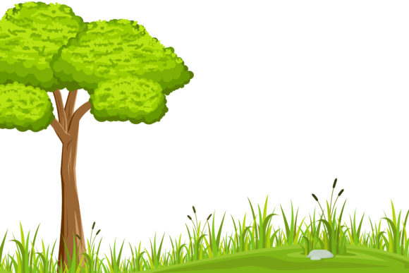 Print on Demand: Natural Background Isolated Gráfico Ilustraciones Por sabavector