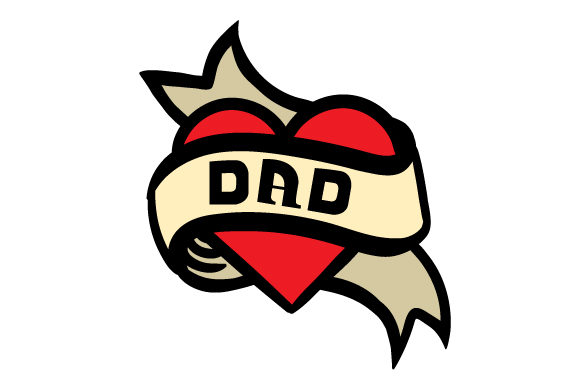 Download Free Dad Tattoo Svg Cut File By Creative Fabrica Crafts Creative for Cricut Explore, Silhouette and other cutting machines.