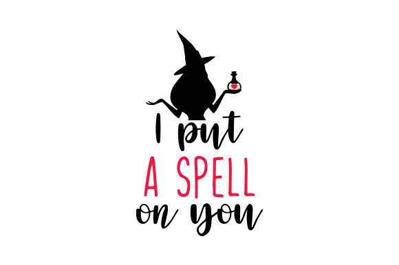 I Put a Spell on You Valentine's Day Craft Cut File By Creative Fabrica Crafts - Image 1