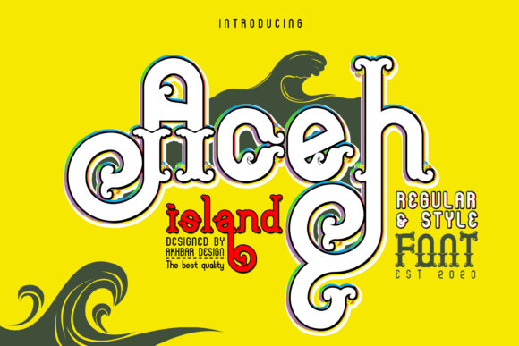 Download Free Aceh Island Font By Akbarmuharram47 Creative Fabrica for Cricut Explore, Silhouette and other cutting machines.