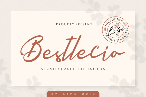 Print on Demand: Bestlecio Script & Handwritten Font By FlipStudio