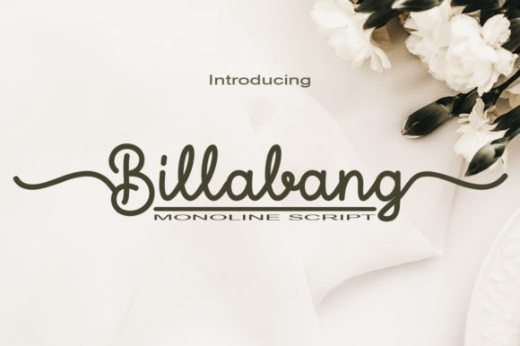 Print on Demand: Billabang Script & Handwritten Font By faisal_Alfaraby