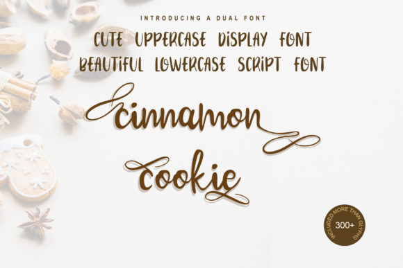 Print on Demand: Cinnamon Cookie Script & Handwritten Font By Tigade std - Image 1