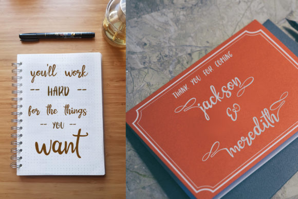 Print on Demand: Cinnamon Cookie Script & Handwritten Font By Tigade std - Image 2