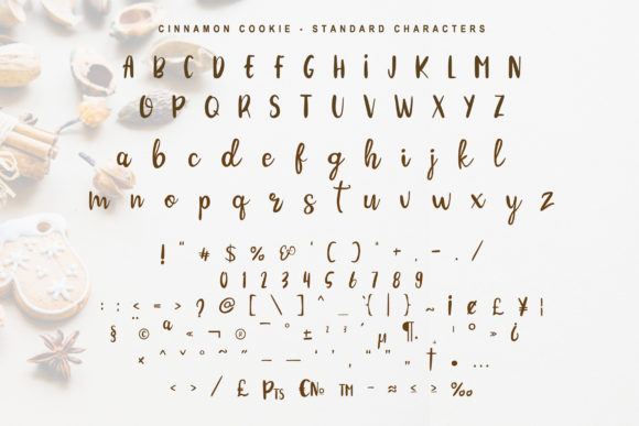 Print on Demand: Cinnamon Cookie Script & Handwritten Font By Tigade std - Image 7