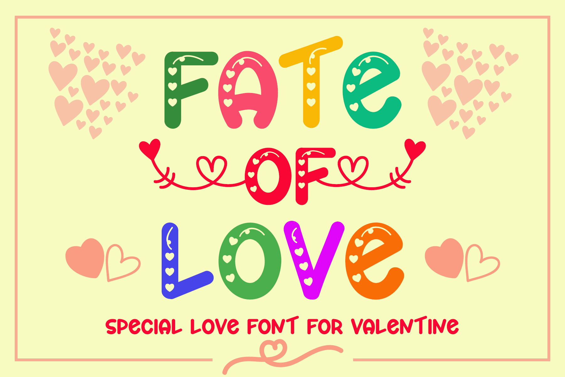 Download Free Fate Of Love Font By Airotype Creative Fabrica for Cricut Explore, Silhouette and other cutting machines.