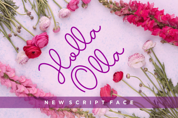 Print on Demand: Holla Olla Script & Handwritten Font By CreativeKiller - Image 1