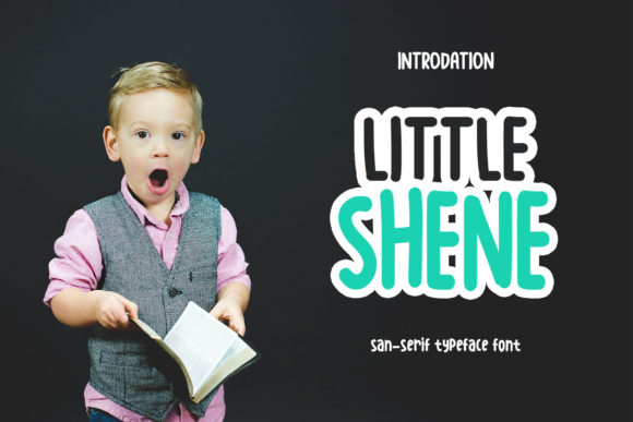 Print on Demand: Littleshen Display Font By SharkStudio - Image 1