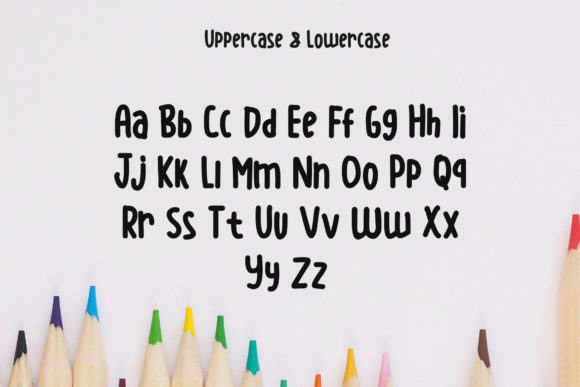Print on Demand: Littleshen Display Font By SharkStudio - Image 5