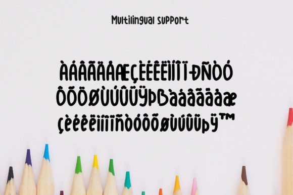 Print on Demand: Littleshen Display Font By SharkStudio - Image 7