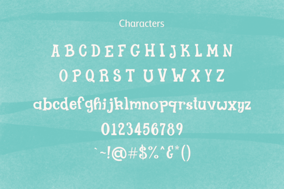 Print on Demand: Lolly Gosh Display Font By amber_nest - Image 5