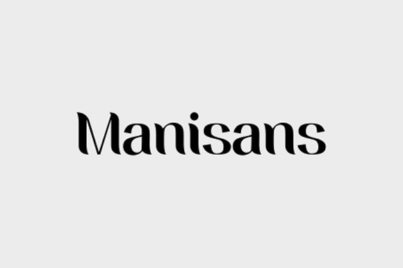 Print on Demand: Manisans Sans Serif Font By rohmatsidiq9 - Image 1