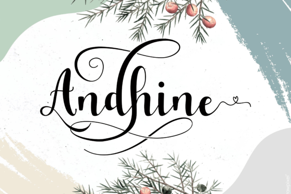Print on Demand: Monthany Script & Handwritten Font By MYdesign - Image 3