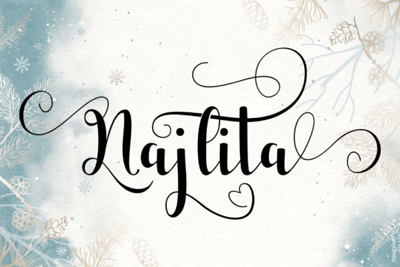 Print on Demand: Monthany Script & Handwritten Font By MYdesign - Image 5