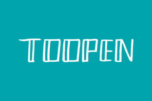 Print on Demand: Toopen Display Font By intype25