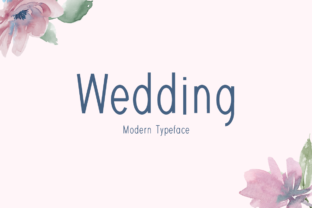 Print on Demand: Wedding Display Font By Instagram Fonts