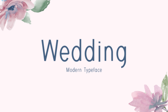 Print on Demand: Wedding Display Font By FontEden