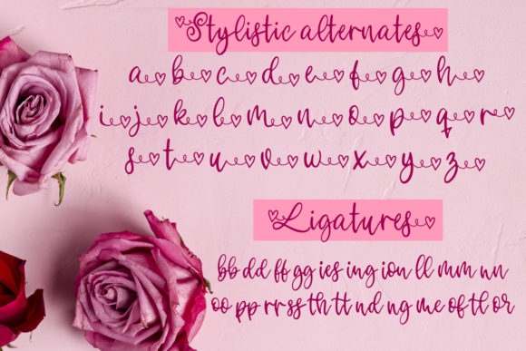 Print on Demand: Your Valentine Script & Handwritten Font By freelingdesignhouse - Image 3