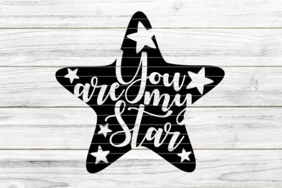 """""""Star You Are My Star"""" Graphic Crafts By seehas-design"""