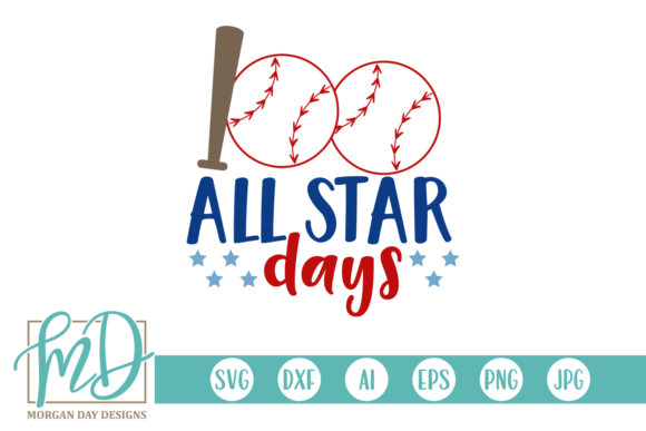 Print on Demand: 100 All Star Days Graphic Crafts By Morgan Day Designs