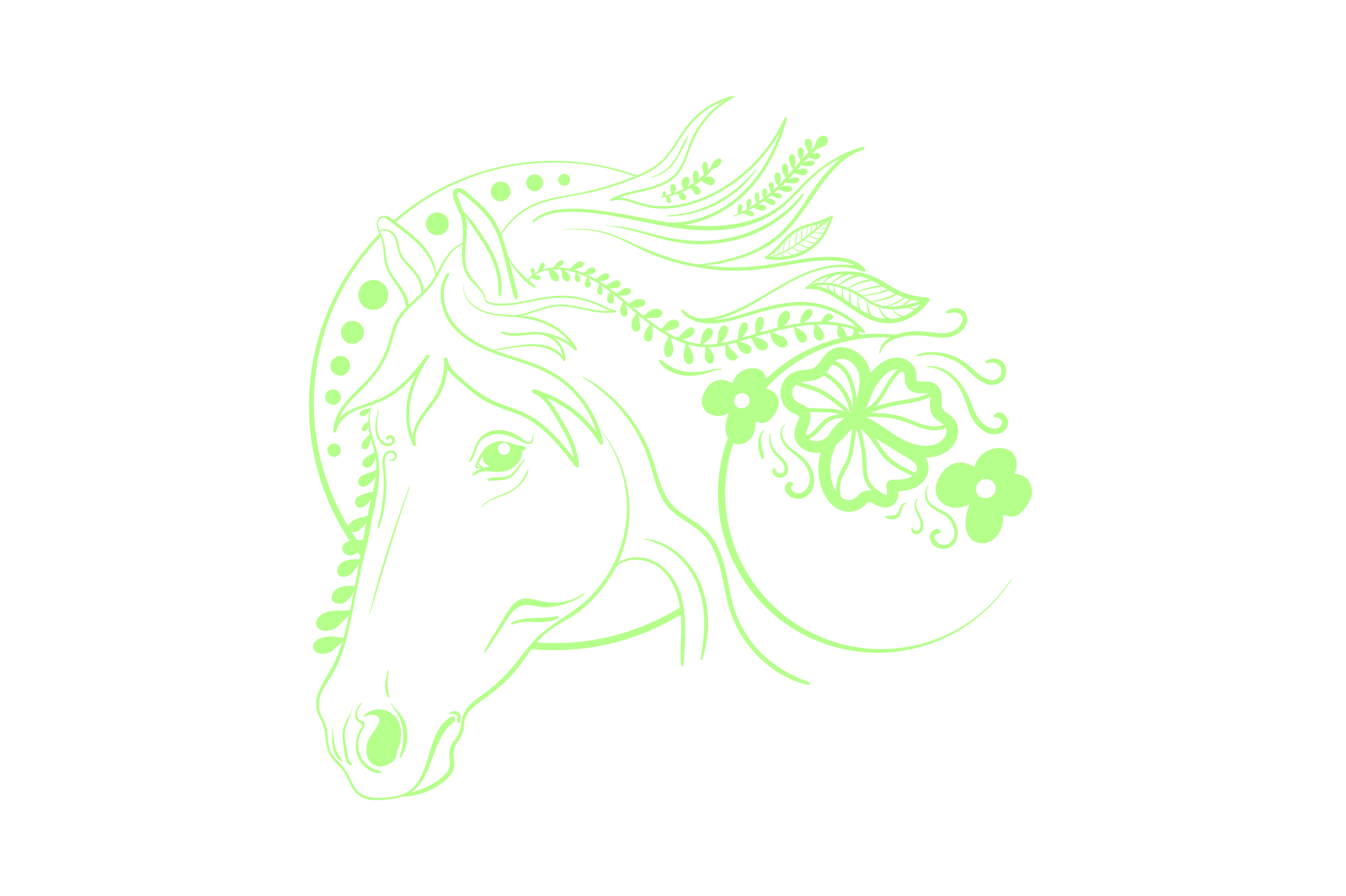 Download Free Linework Horse Svg Cut File By Creative Fabrica Crafts for Cricut Explore, Silhouette and other cutting machines.