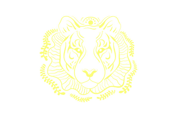 Linework Tiger Animals Craft Cut File By Creative Fabrica Crafts