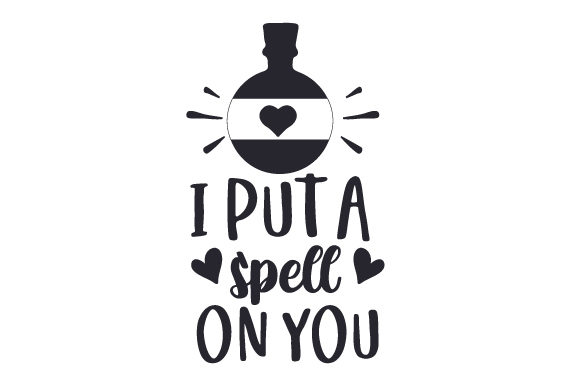 Download Free I Put A Spell On You Svg Cut File By Creative Fabrica Crafts for Cricut Explore, Silhouette and other cutting machines.