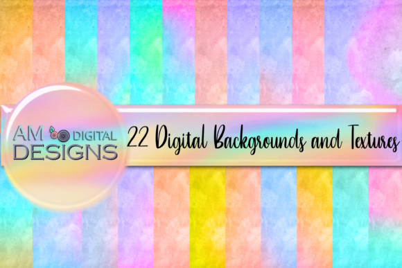 22 Holographic Cloud Backgrounds Texture Graphic Backgrounds By AM Digital Designs