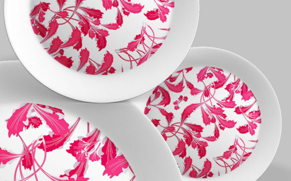 Download Free Abstract Floral Pattern Design Graphic By Patternhousepk for Cricut Explore, Silhouette and other cutting machines.