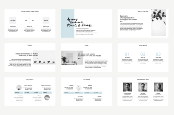 Download Free Agency Proposal Keynote Template Grafico Por Jetztemplates for Cricut Explore, Silhouette and other cutting machines.